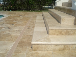 French Pattern Brushed chiseled-Pavers