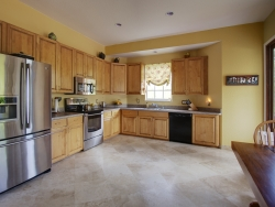 Travertine Kitchen FLoor