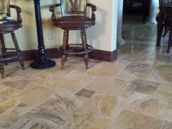 Autumn Blend Brushed and Chiseled tiles