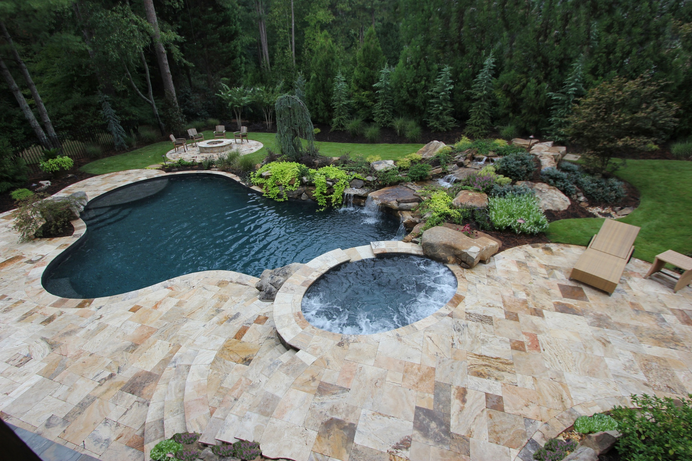 travertine patio pavers - home design ideas and pictures