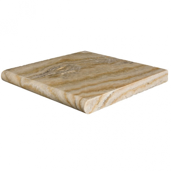 12X12 CAPPADOCIA SCABOS SELECT Tumbled Travertine COPING
