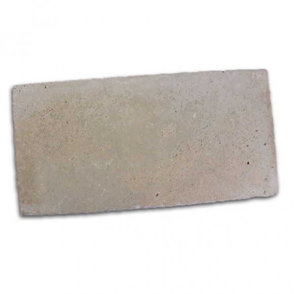 12x24 Ivory Select Tumbled Travertine Paver