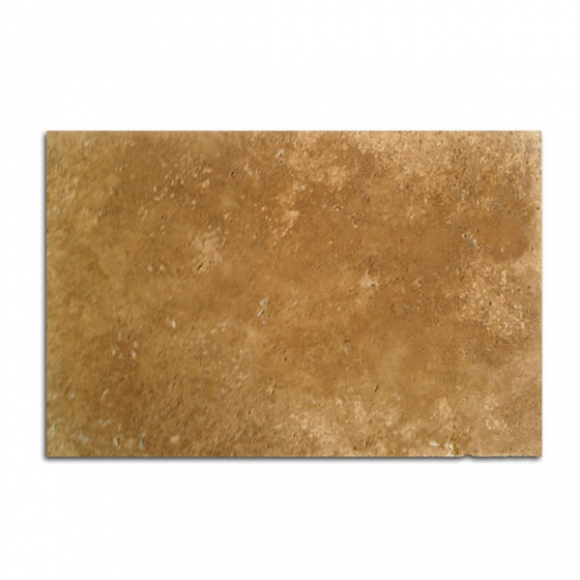 12x24 Roman Blend Walnut Select Tumbled Travertine Paver