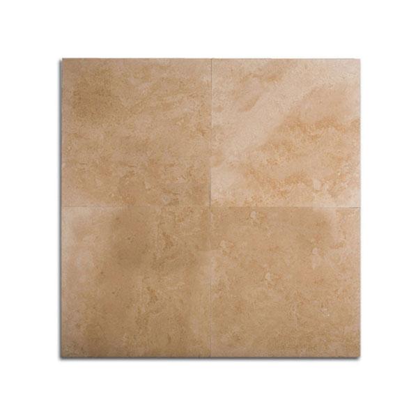 Patara Antique Medium Filled Honed Travertine Tile
