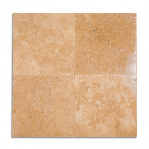 18x18 desert gold Tumbled tile
