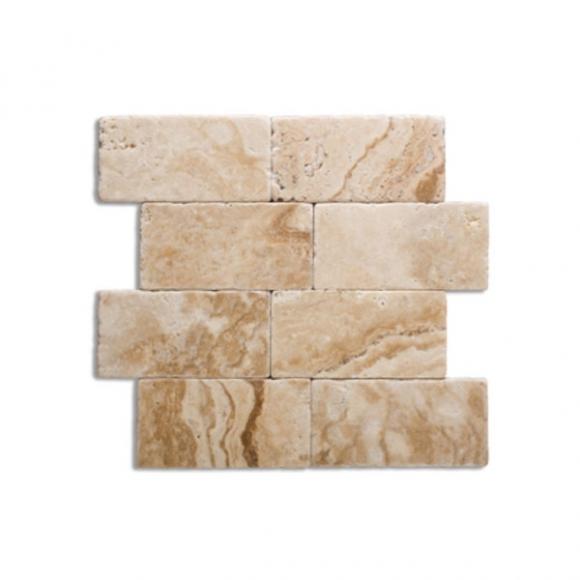 3x6 medium river tumbled tile