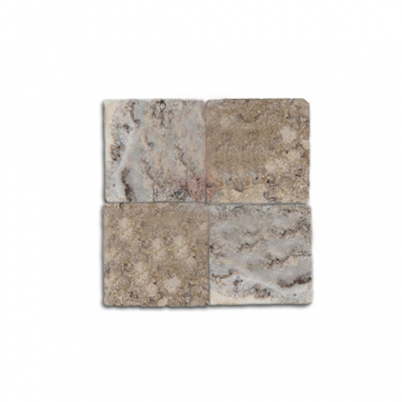 4X4 ANTIQUE ONYX Travertine TILE