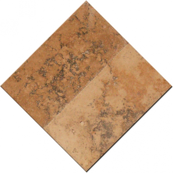 6x12 Country Classic Select Tumbled Travertine Paver