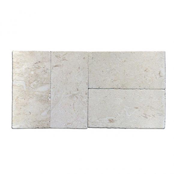 6x12 Shell Stone Tumbled Paver