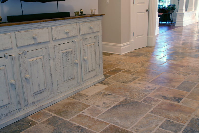 French Pattern Travertine Tiles