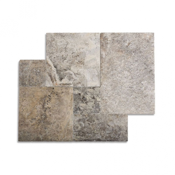 French Pattern Travertine Tiles at wholesale Price : Polished, Brushed ...