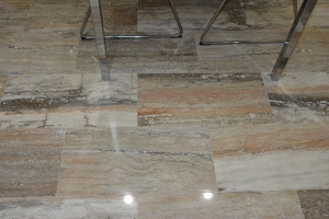 Polished Travertine Tile