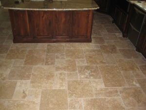 Charming Tumbled Travertine Tile