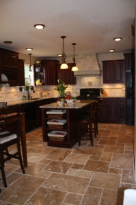 French Pattern Chiseled Edge Tile