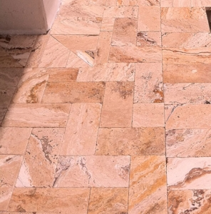 Leonardo Tumbled Travertine Paver