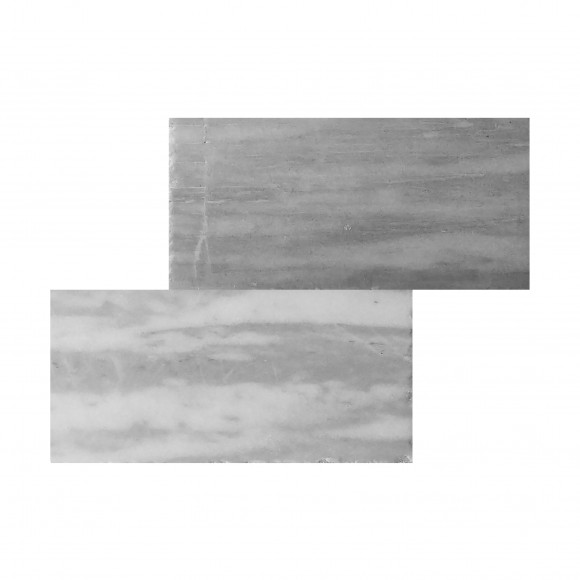 12x24 CARRARA GRAY Polished-BEVELED Marble Tile