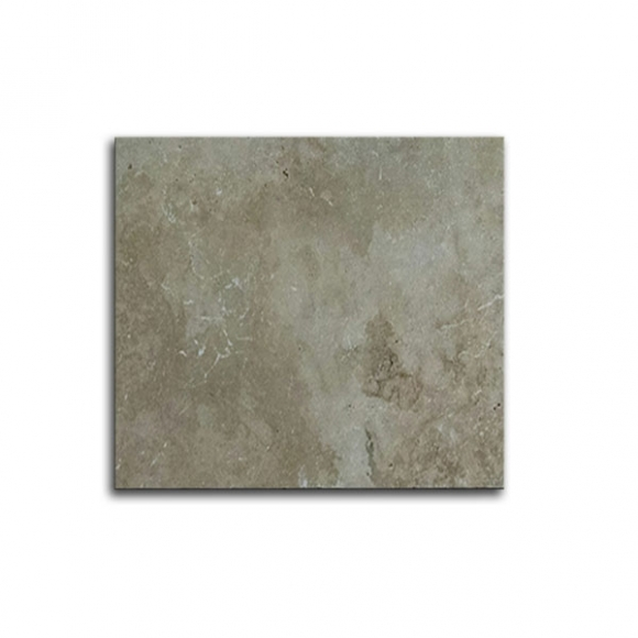 12x12 Ivory Select Tumbled Travertine Paver