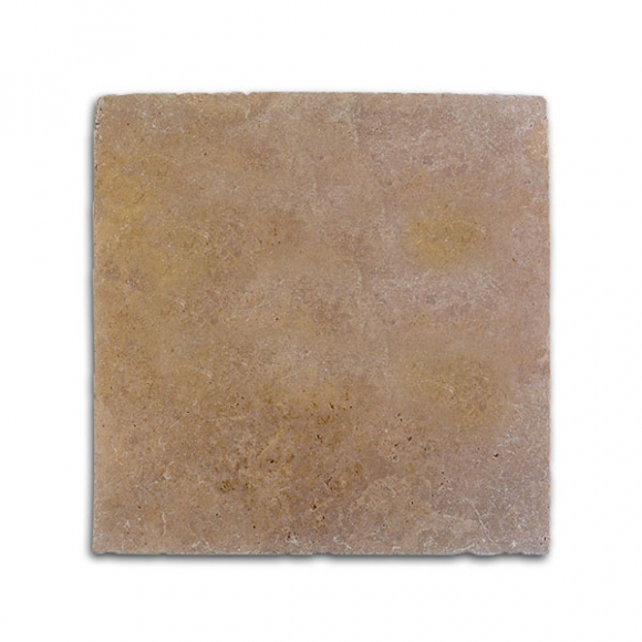 12x12 Noce Select Tumbled Travertine Paver