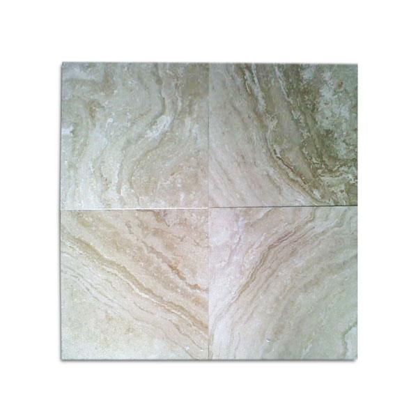 Ivory Light Honed Filled Travertine Tiles 18x18: 12x12 Noce Select Tumbled Travertine Paver