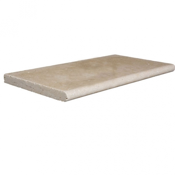 12x24 Ivory Select Tumbled Pool Coping