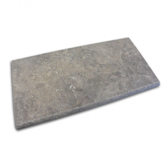 12x24 Silver Select Tumbled Pool Coping