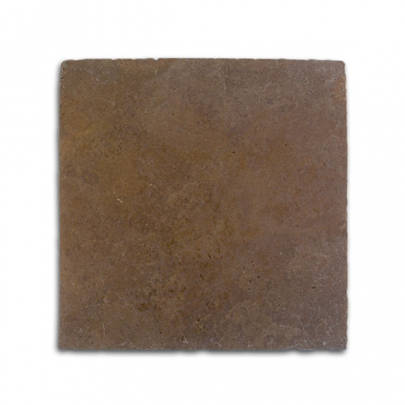 16x16 Noce Select Tumbled Travertine Paver