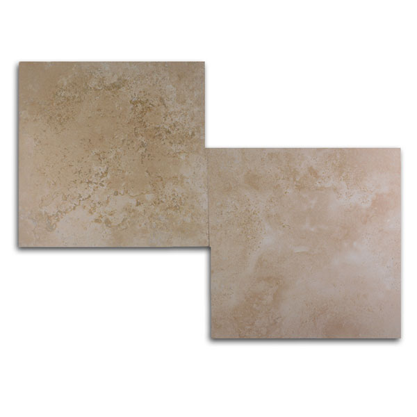 Ivory Light Honed Filled Travertine Tiles 18x18: OLYMPOS LIGHT PREMIUM Filled-HONED Travertine TILE