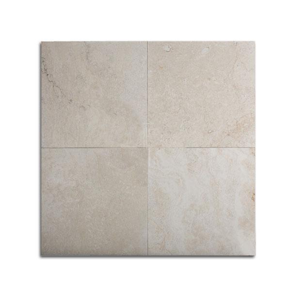 Ivory Light Honed Filled Travertine Tiles 18x18: 18x18 Leonardo Select Filled-Honed Travertine Tile