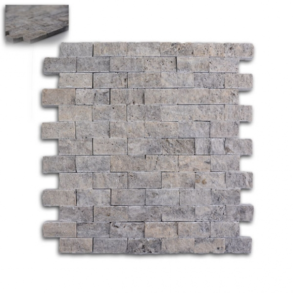 1x2-Silver-Split-faced-mosaic-tile