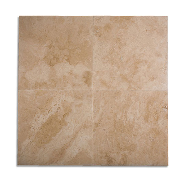 Ivory Light Honed Filled Travertine Tiles 18x18: 24x24 Patara Antique Light Filled-Honed Travertine Tile