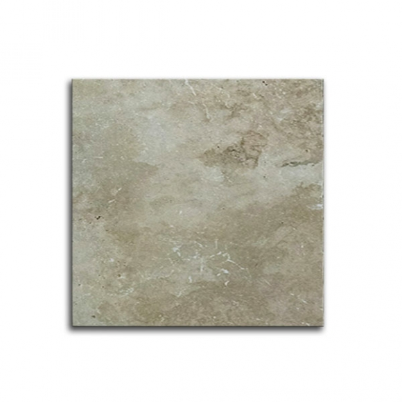 24x24 Ivory Select Tumbled Travertine Paver