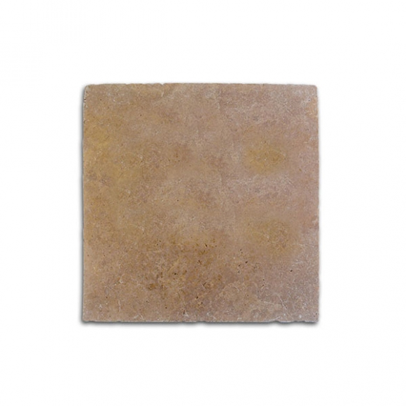 24x24 Noce Tumbled Travertine Paver