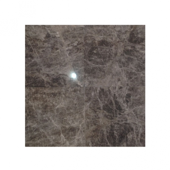 Dark Emperador Polished Marble Tile from Travertine Warehouse