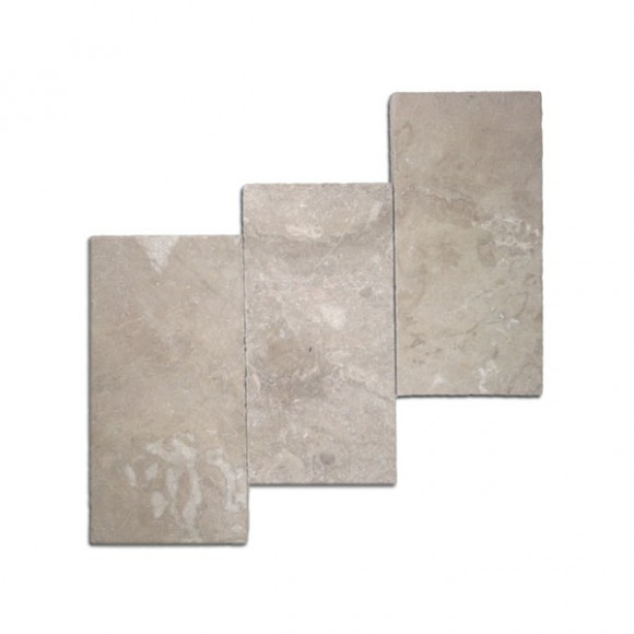 6x12 Diana Royal Tumbled Marble Paver1