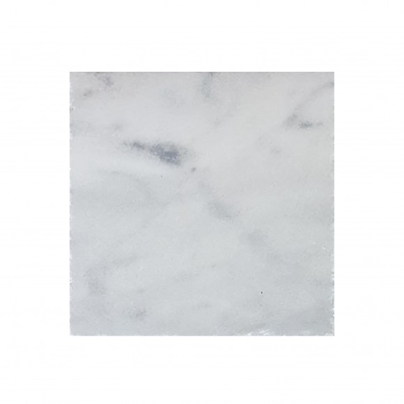 24x24 CARRARA WHITE Polished-BEVELED Marble Tile