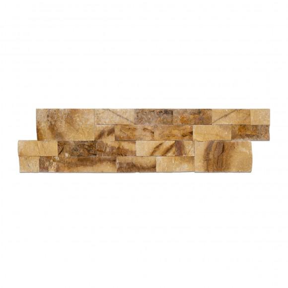 6x24 Picasso Splitface Ledgestone Marble Panel